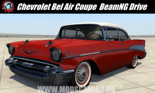 BeamNG Drive download mod car Chevrolet Bel Air Coupe 1957