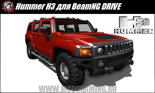 BeamNG DRIVE mod download Hummer H3 SUV