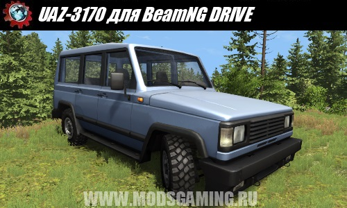 BeamNG DRIVE downloaden mod SUV UAZ-3170
