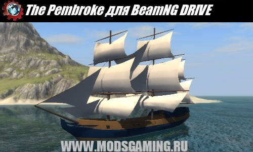 BeamNG DRIVE download mod ship The Pembroke