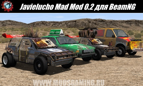 BeamNG.drive download mod Pak Javielucho Mad Mod 0.2