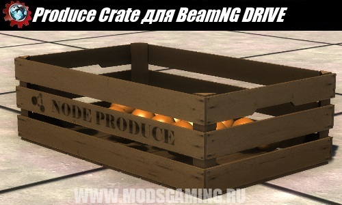 BeamNG DRIVE mod download Produce Crate