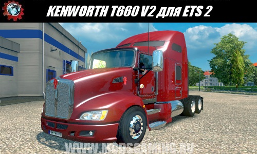 Euro Truck Simulator 2 modes KENWORTH T660 American truck