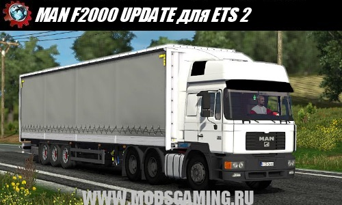 Euro Truck Simulator 2 download mod truck MAN F2000 UPDATE