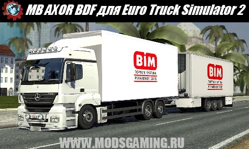 Euro Truck Simulator 2 download mod car MB AXOR BDF