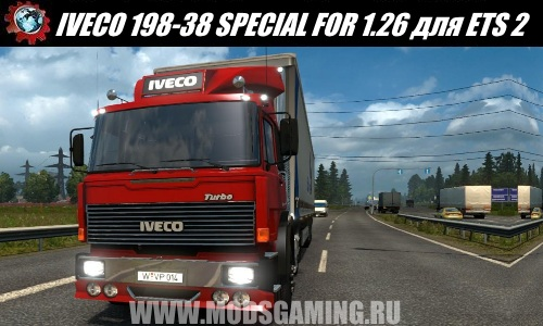 Euro Truck Simulator 2 download mod truck IVECO 198-38 SPECIAL FOR 1.26