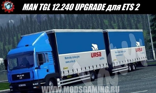 Euro Truck Simulator 2 download mod truck MAN TGL 12.240 UPGRADE