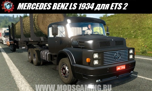 Euro Truck Simulator 2 herunterladen old fashion LKW MERCEDES BENZ LS 1934