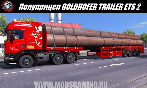Euro Truck Simulator 2 download modes trailer GOLDHOFER TRAILER