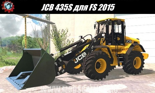 Farming Simulator 2015 download mod loader JCB 435S