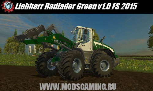 Farming Simulator 2015 download mod loader Liebherr Radlader Green v1.0