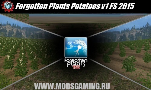 Farming Simulator 2015 mod download Forgotten Plants Potatoes v1