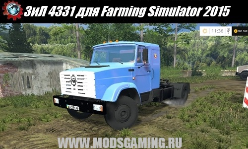 Farming Simulator 2015 download mod truck ZIL 4331