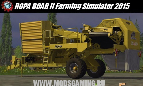 Farming Simulator 2015 download mod potato harvester ROPA BOAR II