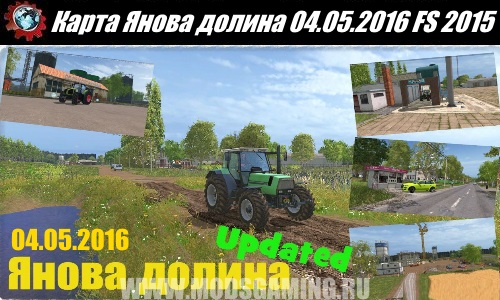 Farming Simulator 2015 download map mod Janov Valley Update 04/05/2016