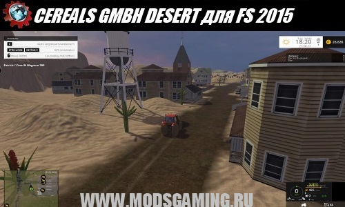 Farming Simulator 2015 download map mod CEREALS GMBH DESERT