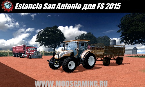 Farming Simulator 2015 mod map Estancia San Antonio