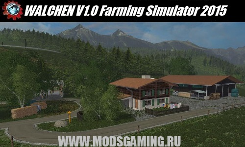 Farming Simulator 2015 mod download map WALCHEN V1.0