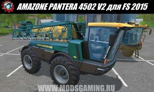Farming Simulator 2015 download mod fertilizer sprayer AMAZONE PANTERA 4502 V2
