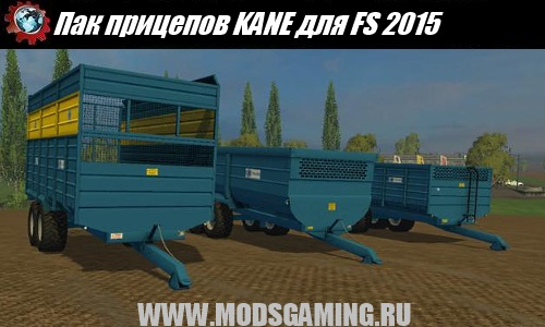 Farming Simulator 2015 download mod Pak trailers KANE