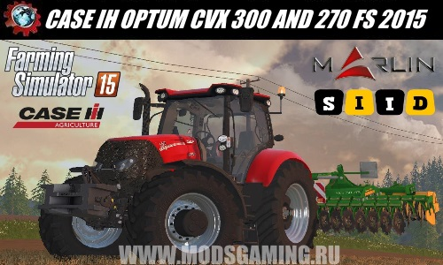 Farming Simulator 2015 download mod tractor CASE IH OPTUM CVX 300 AND 270
