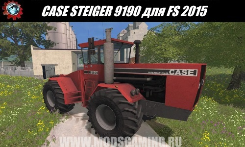 Farming Simulator 2015 download mod tractor CASE STEIGER i9190