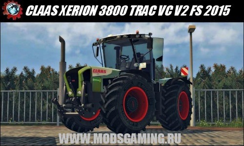 Farming Simulator 2015 download mod tractor CLAAS XERION 3800 TRAC VC V2