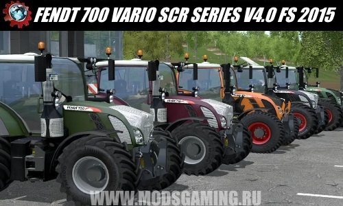 Farming Simulator 2015 mod download PAK Tractors FENDT 700 VARIO SCR SERIES V4.0 RC4 FINAL