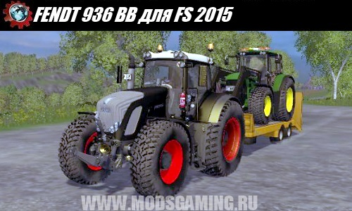 Farming Simulator 2015 download mod tractor FENDT 936 BB