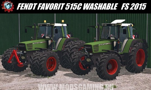 Farming Simulator 2015 download mod tractor FENDT FAVORIT 515C WASHABLE