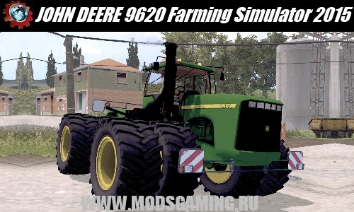 Farming Simulator 2015 download mod tractor JOHN DEERE 9620 BY DINO