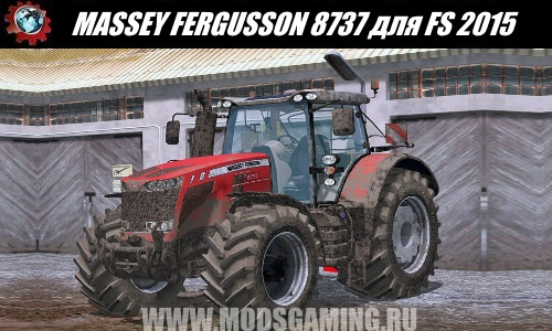 Farming Simulator 2015 download mod tractor MASSEY FERGUSON 8737