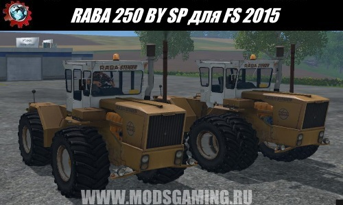 Farming Simulator 2015 download mod Tractor RABA 250 BY SP