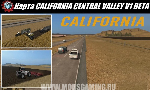 Farming Simulator 2017 download map mod CALIFORNIA CENTRAL VALLEY V1 BETA