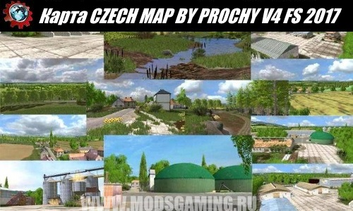 Farming Simulator 2017 download map mod CZECH MAP BY PROCHY V4