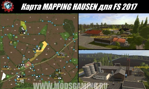 Farming Simulator 2017 download map mod MAPPING HAUSEN
