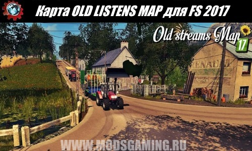 Farming Simulator 2017 download map mod OLD LISTENS MAP