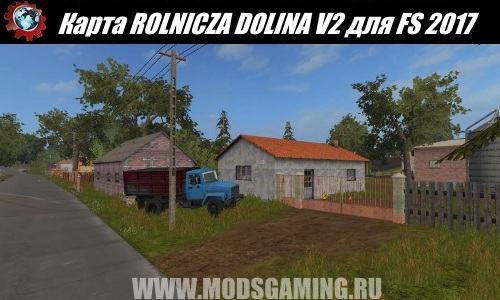 Farming Simulator 2017 download map mod ROLNICZA DOLINA V2