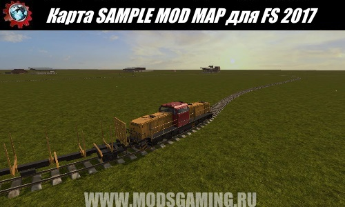 Farming Simulator 2017 download map mod SAMPLE MOD MAP