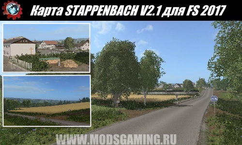 Farming Simulator 2017 download map mod STAPPENBACH V2.1