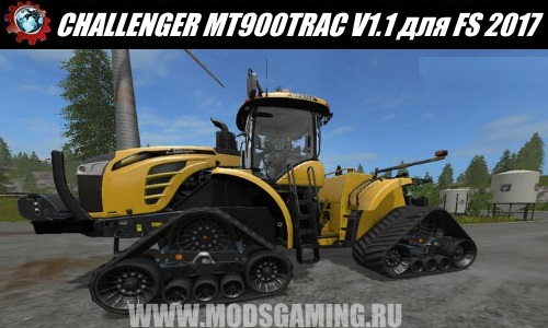 Farming Simulator 2017 download mod tractor CHALLENGER MT900TRAC V1.1