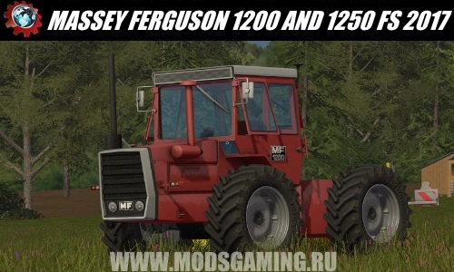 Farming Simulator 2017 download mod tractor MASSEY FERGUSON 1200 AND 1250