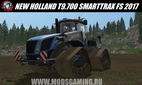 Farming Simulator 2017 download mod tractor NEW HOLLAND T9.700 SMARTTRAX