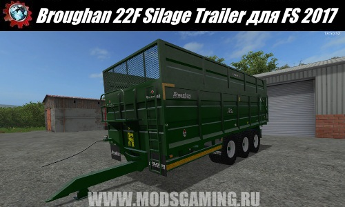 Farming Simulator 2017 download modes trailer Broughan 22F Silage Trailer