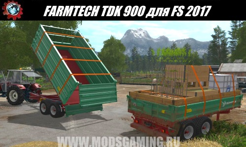 Farming Simulator 2017 download modes trailer FARMTECH TDK 900