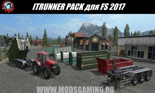 Farming Simulator 2017 mod download Pak Semi ITRUNNER PACK