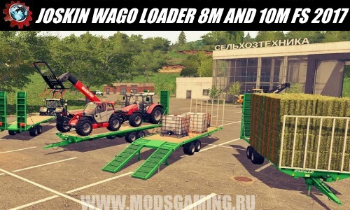 Farming Simulator 2017 download modes trailer JOSKIN WAGO LOADER 8M AND 10M