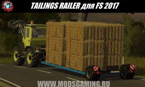 Farming Simulator 2017 download modes trailer TAILINGS TRAILER