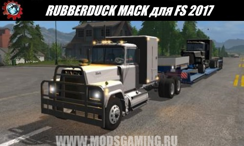 Farming Simulator 2017 download mod Truck RUBBERDUCK MACK