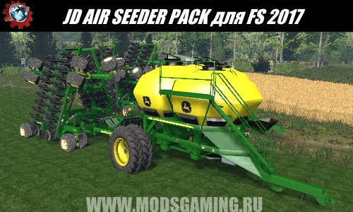 Farming Simulator 2017 download mod seeder JD AIR SEEDER PACK